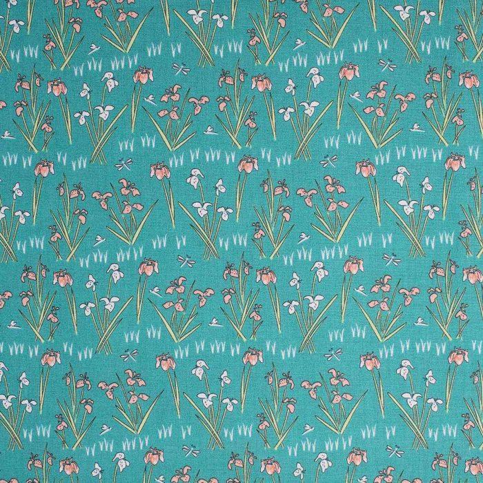 iris design fabric