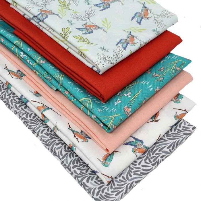 kingfisher fat quarters bundle