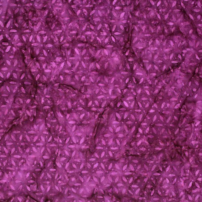 Deep pink batik fabric.