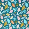 Printed leaf fabric by Dashwood Studios.