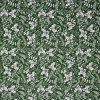 Green holly fabric.