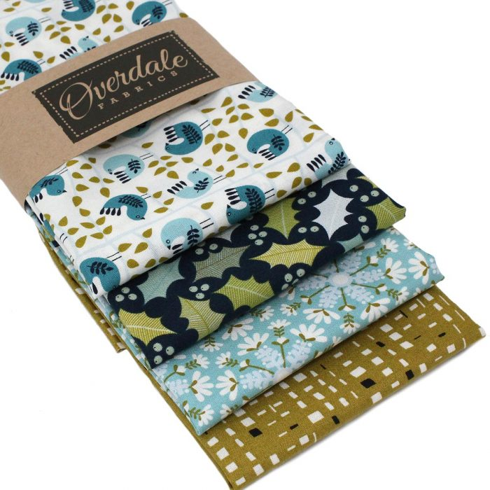 Snow birds fat quarter pack.