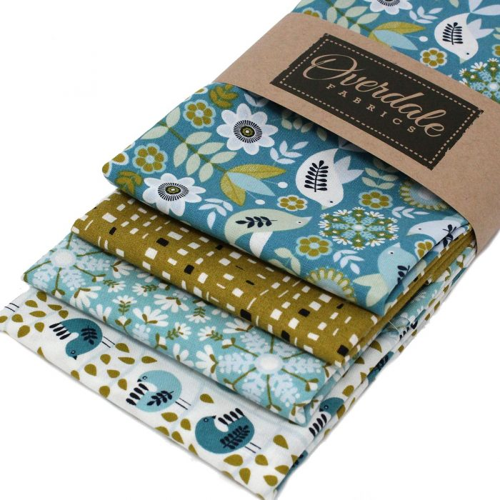 Fat quarter pack of Dashwood Studio fabrics with a Winter Christmas theme.