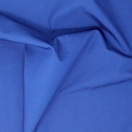 Copen blue plain solid fabric.
