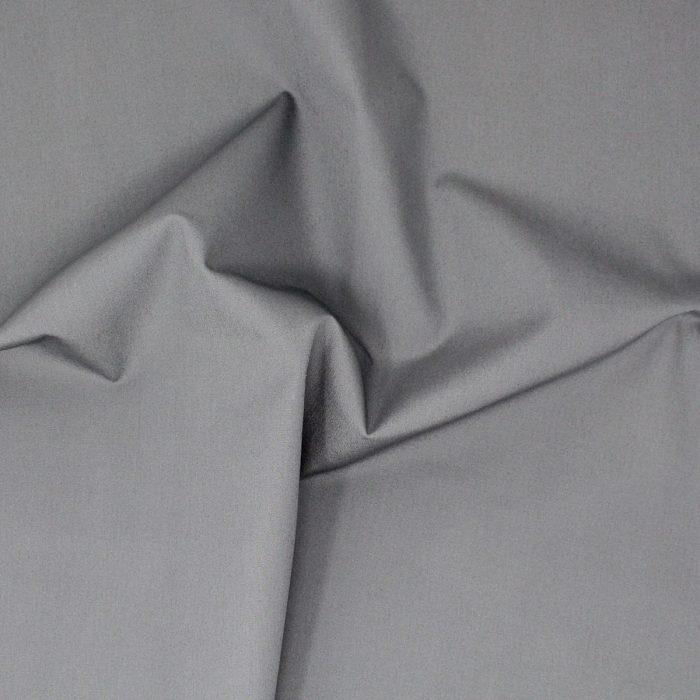 Plain grey fabric.