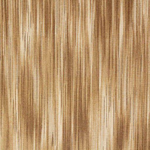 Linear fabric design in tan shades.