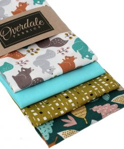 Fat quarter pack featuring fabrics by Dashwood Studios.