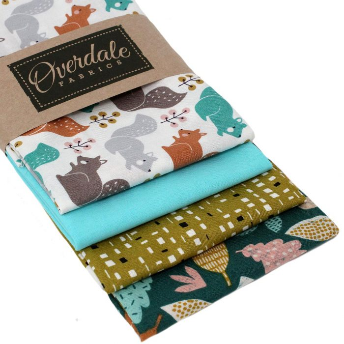 Fat quarter pack featuring fabrics by Dashwood Studios.