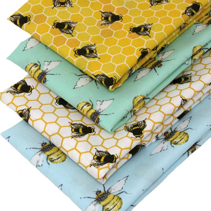 Bee themed fabrics.