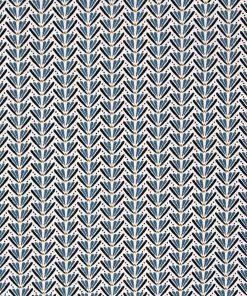 Small blue ditz fabric.