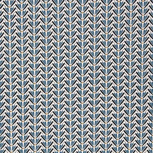 Small blue ditz fabric.