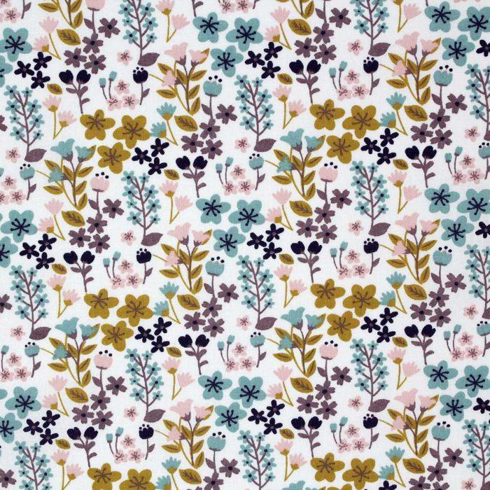 Pretty floral fabric.