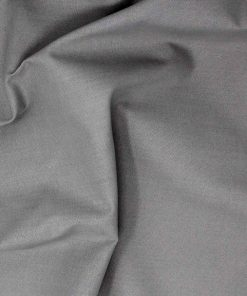 Plain solid grey fabric.