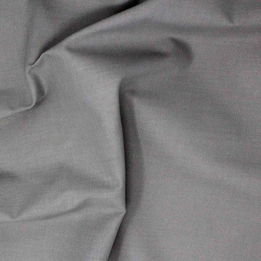 Plain solid grey fabric.