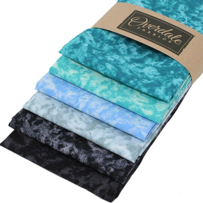 marble fabrics in fat quarters bundle