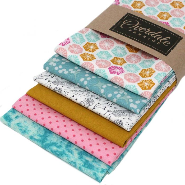 pack shot of fat quarters called 'candy treats'