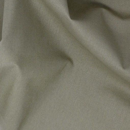 Plain solid fabric in khaki green.