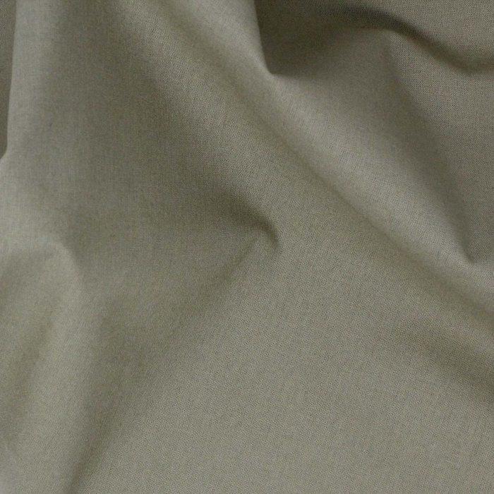 Plain solid fabric in khaki green.