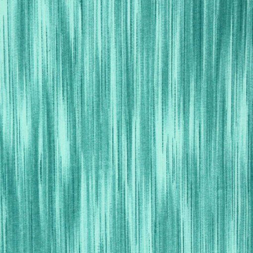 Spearmint green fabric with a linear design.