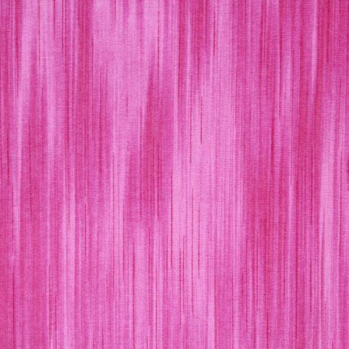 Pink linear fabric.