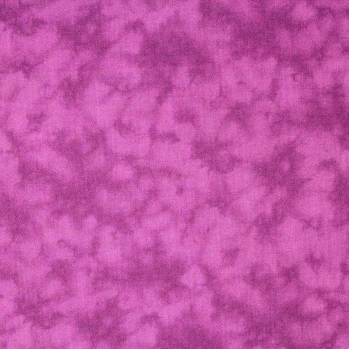Mottled fabric in magenta.
