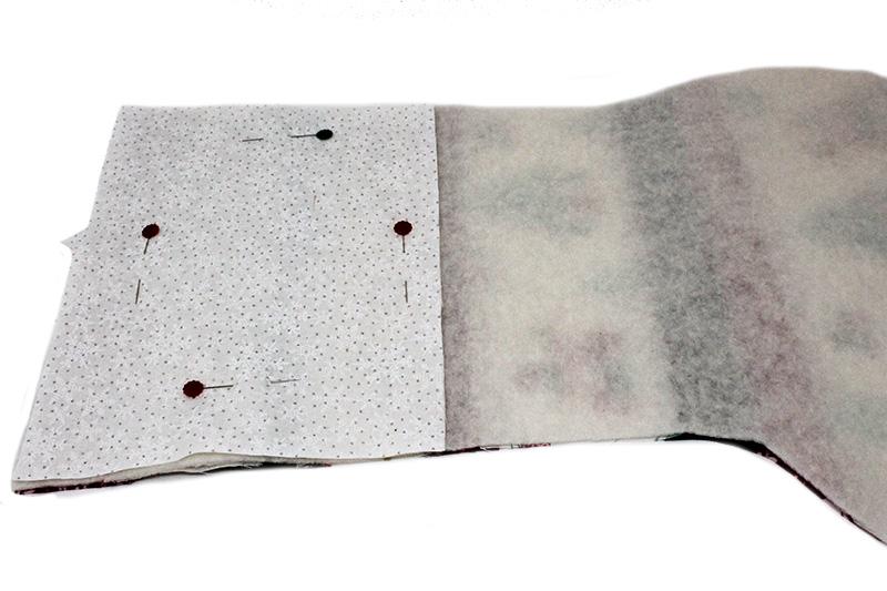 Christmas stocking tutorial - sewing inner lining