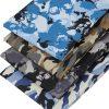 Skull and camouflage fabrics