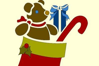 applique Christmas design