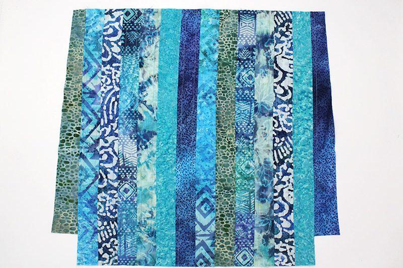 batik bag side panel