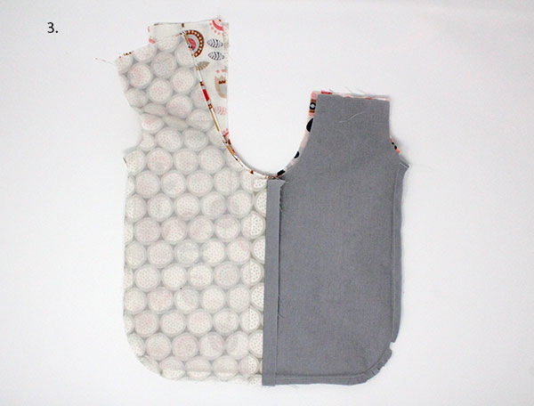Japanese knot bag tutorial - turn outer bag out
