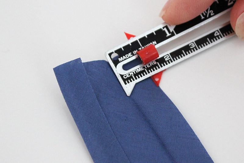 measuring bias tape