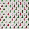 Christmas tree fabric.