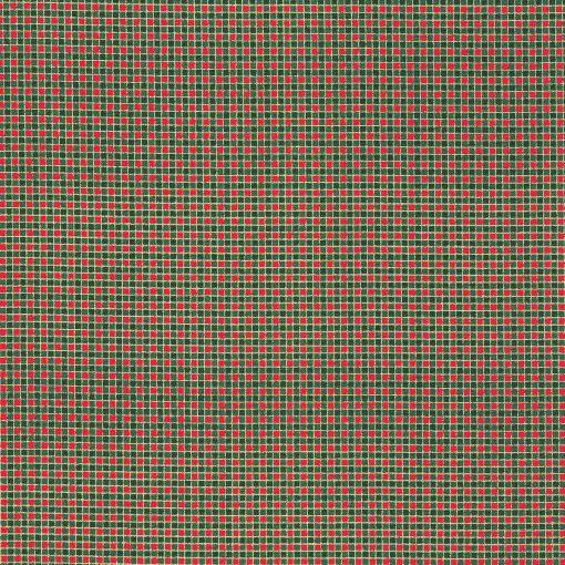 Christmas checked fabric.