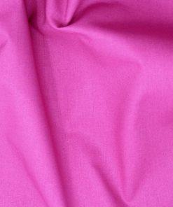 Fuchsia pink plain solid fabric.