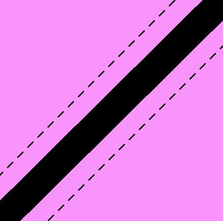 half square triangles cut along line