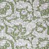 Green leaf design by William Morris.