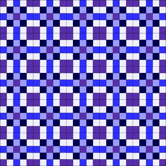 5x5 quilt block used to create quilt design